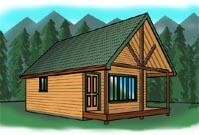 Tremendous Cabin Plans At Cabinplans123 Many Great Cabin Plans Money Back Largest Home Design Picture Inspirations Pitcheantrous