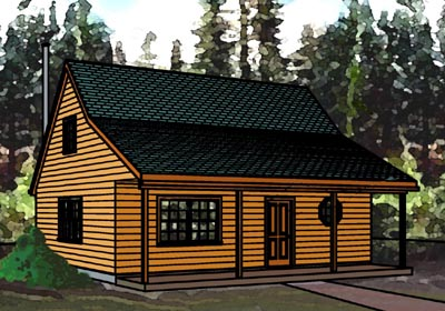 Cabin 24x24 house plans omahdesigns net for 24x24 cabin