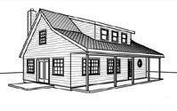 Cabin Plans with lofts at Cabinplans123